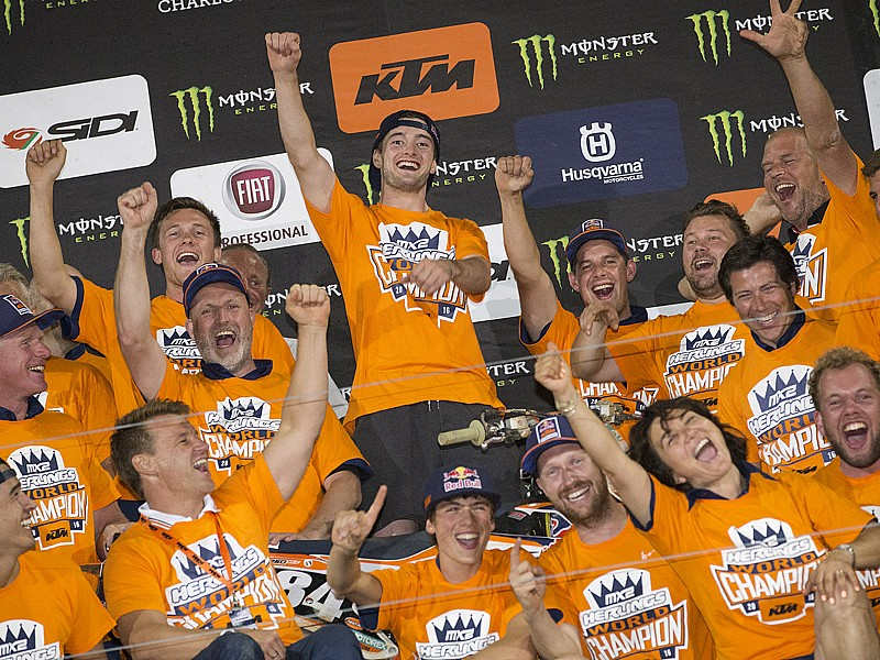 Jeffrey Herlings, tricampeón mundial de motocross.