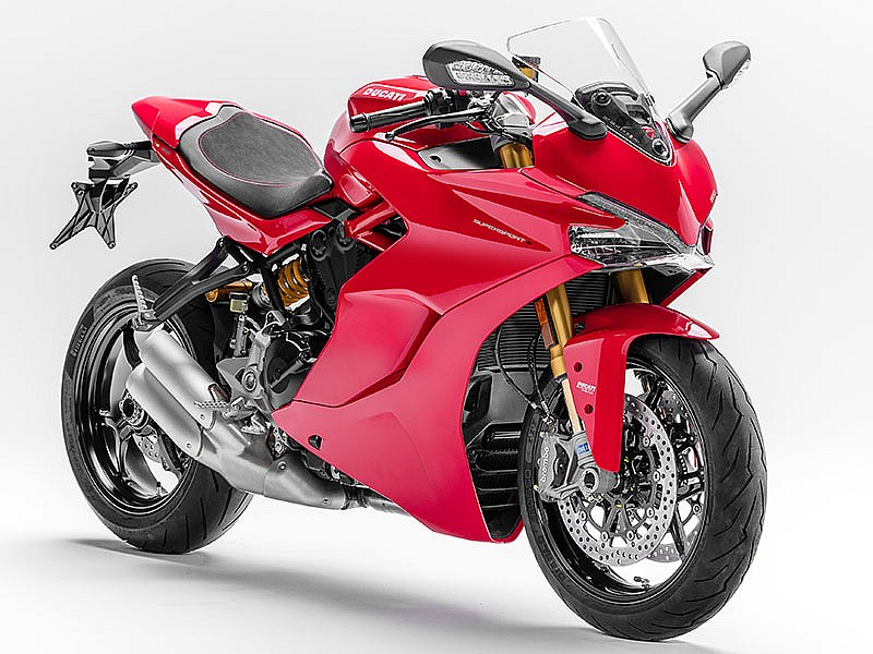 Ducati Supersport S 2017 roja
