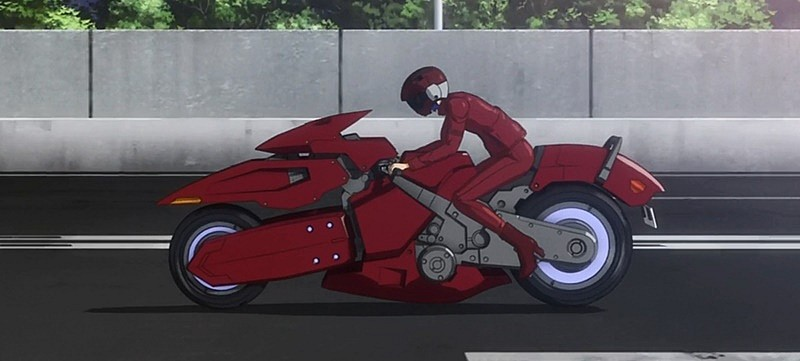 Ghost in the Shell, moto del anime