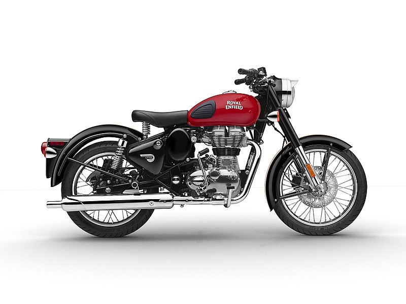 Royal Enfield Classic 500 Redditch Red