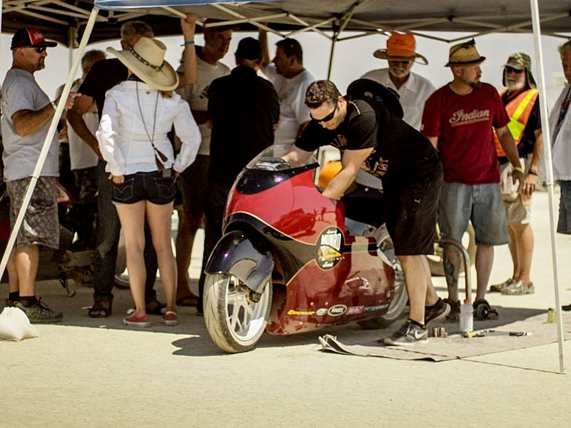 Spirit of Munro 50th anniversary 2017 Indian Scout