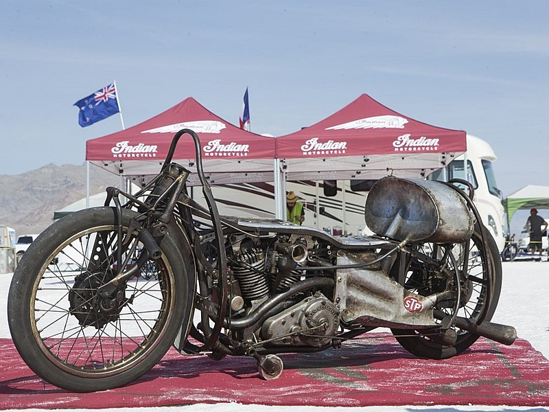 Indian Scout Streamliner de 1920