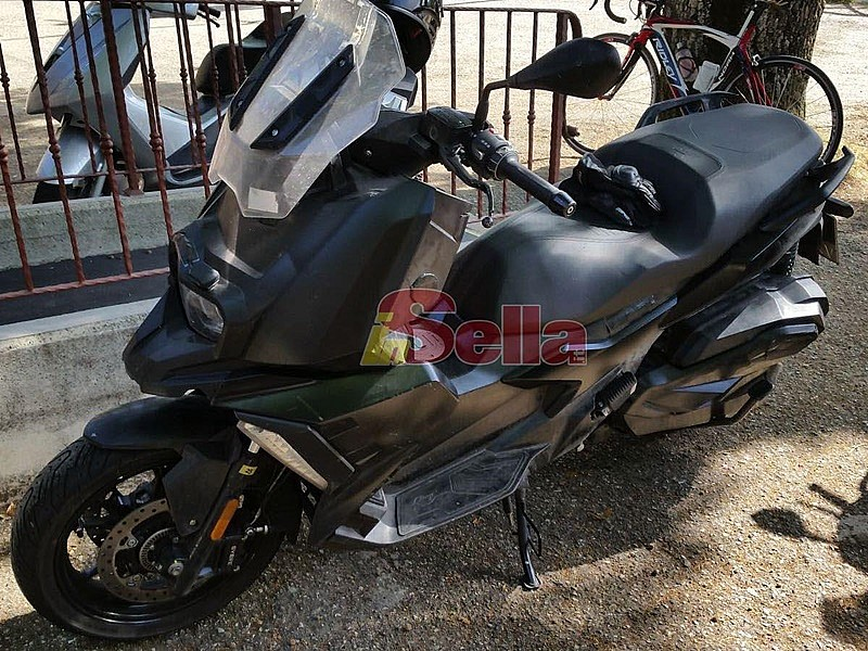 Prototipo scooter offroad BMW