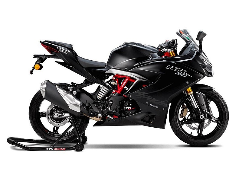 TVS Apache RR 310 2018 - lateral