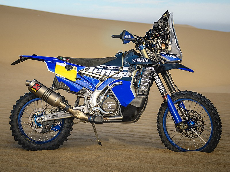 Yamaha WR450F Rally 2018