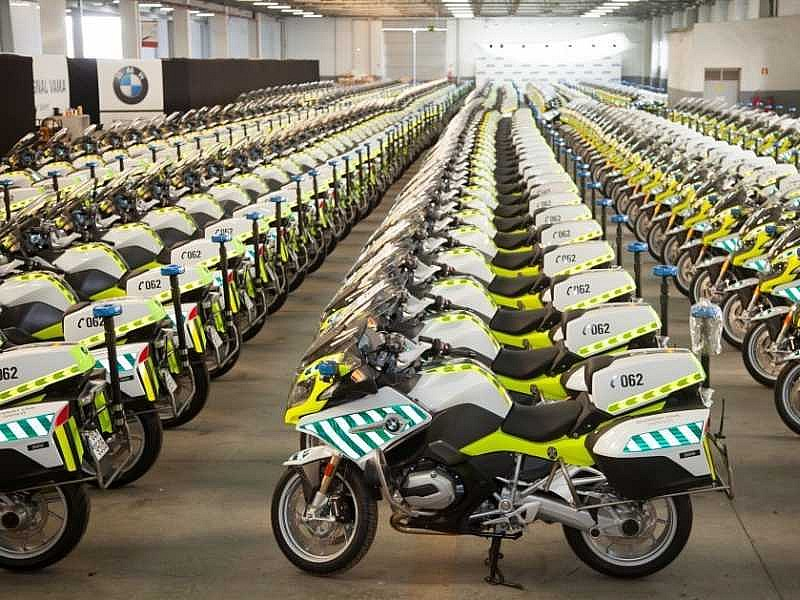 Nuevas BMW R1200RT para la Guardia Civil