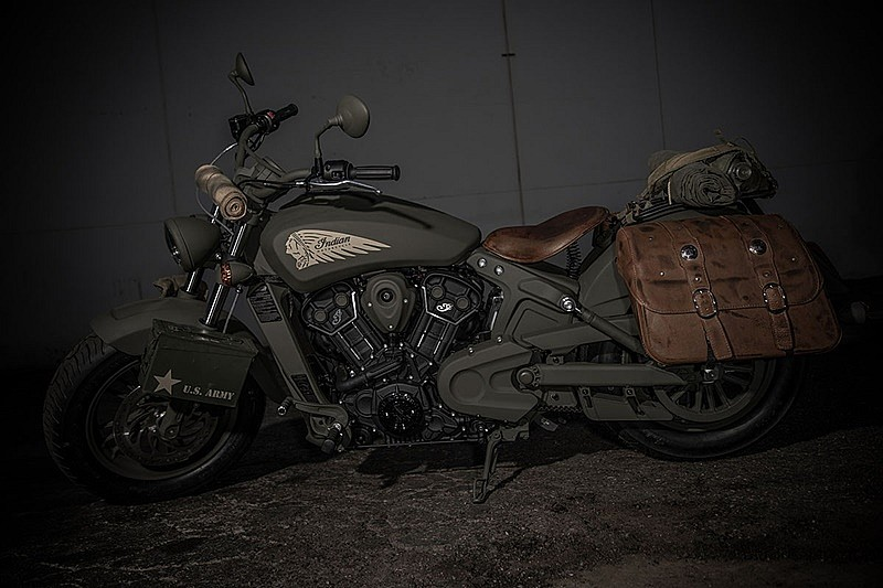 Indian Scout 741B - conjunto