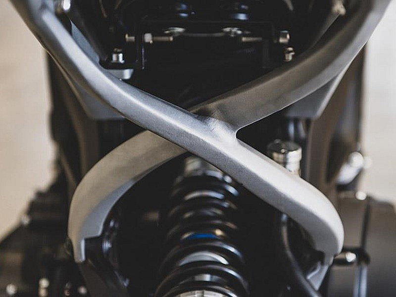 Yamaha XSR900 'Alter' by Dab Motors - detalle subchasis