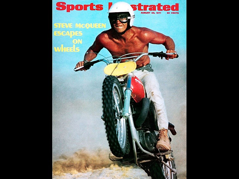 Portada Sports Ilustrated McQueen - Hysky