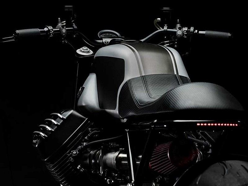 GT MotoCycles GTM-01, trasera