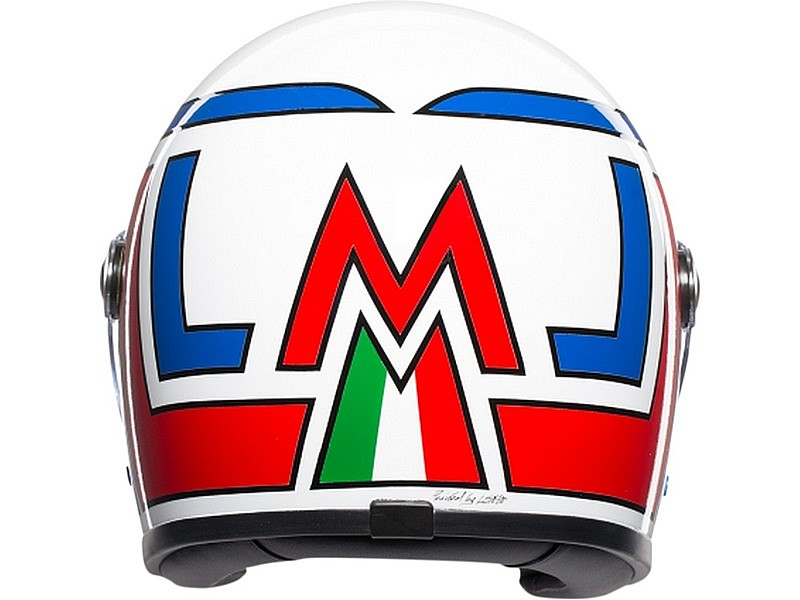 AGV X3000 Marco Lucchinelli - trasera