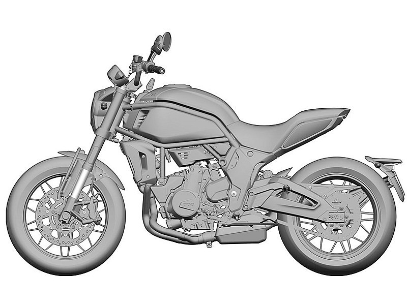 CF Moto 700X - lateral