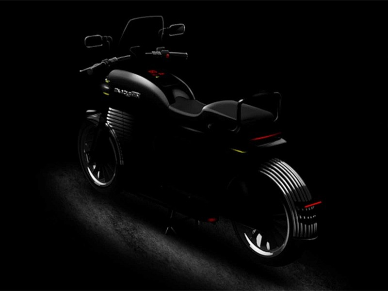 Blacksmith Electric B2 - trasera