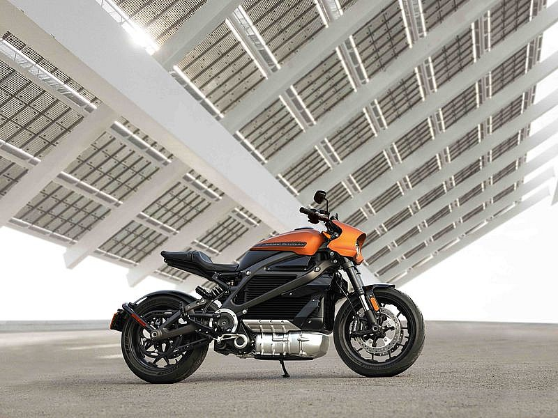 Harley-Davidson LiveWire - lateral