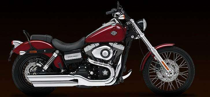 Harley Davidson Wide Glide® 2010 - Red Hot Sunglo