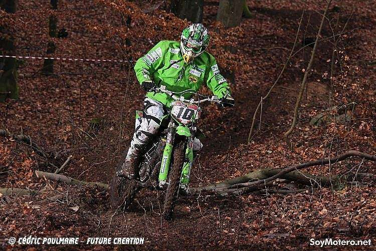 la Green Eco Enduro 2009 contó con varias etapas en distintas superficies