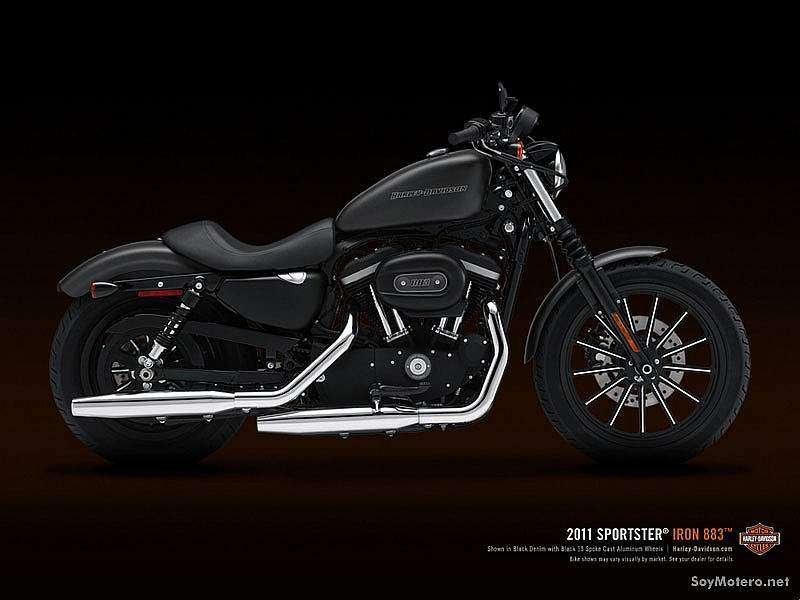 Harley-Davidson Iron 883 2011 - Black Denim