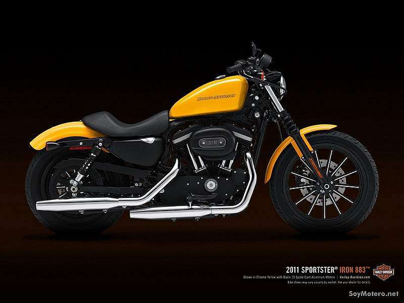 Harley-Davidson Iron 883 2011 - Yellow