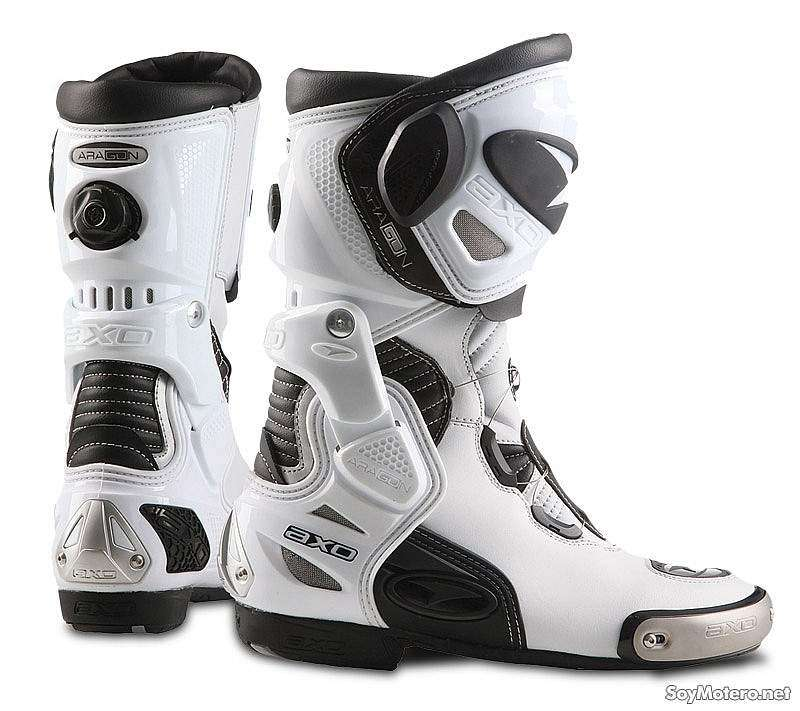 Botas de moto Axo Aragon color blanco
