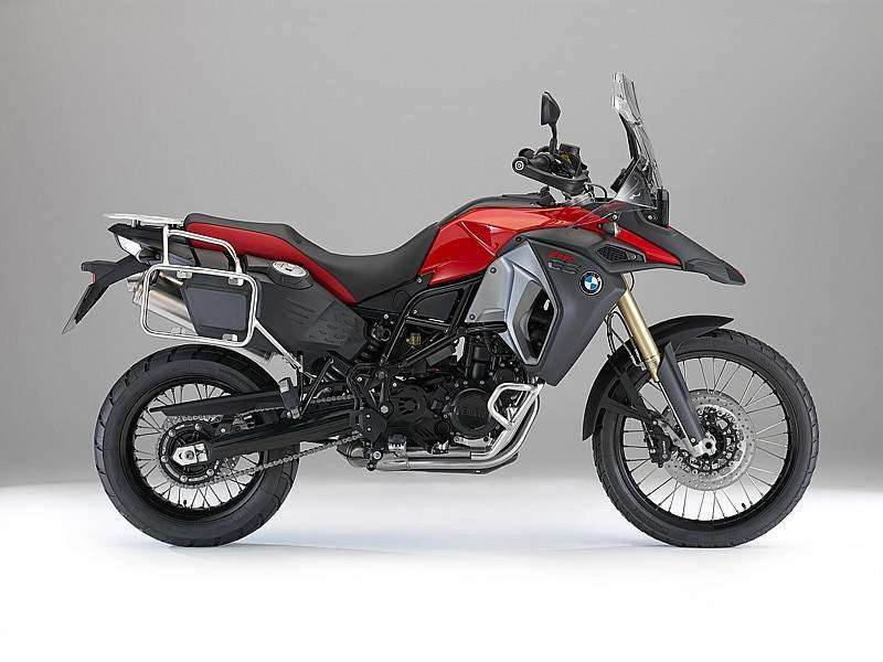 BMW F 800 GS Adventure color rojo