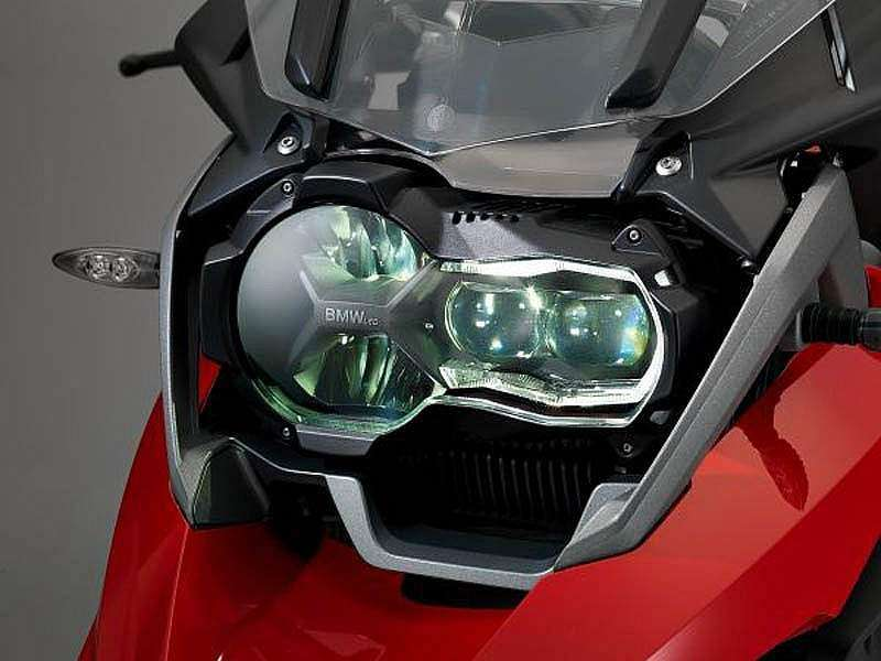 Luz de LED en la BMW R 1200 GS