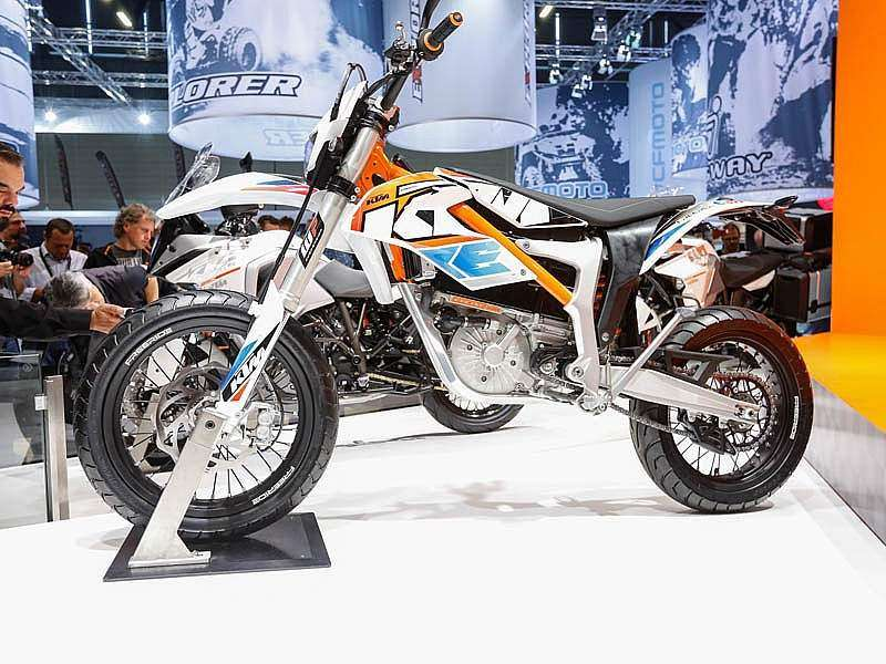 INTERMOT 2014: luciendo la KTM Freeride E-SM 2015