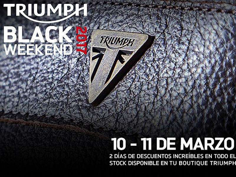 "Triumph lanza su ""Black Friday"" particular"