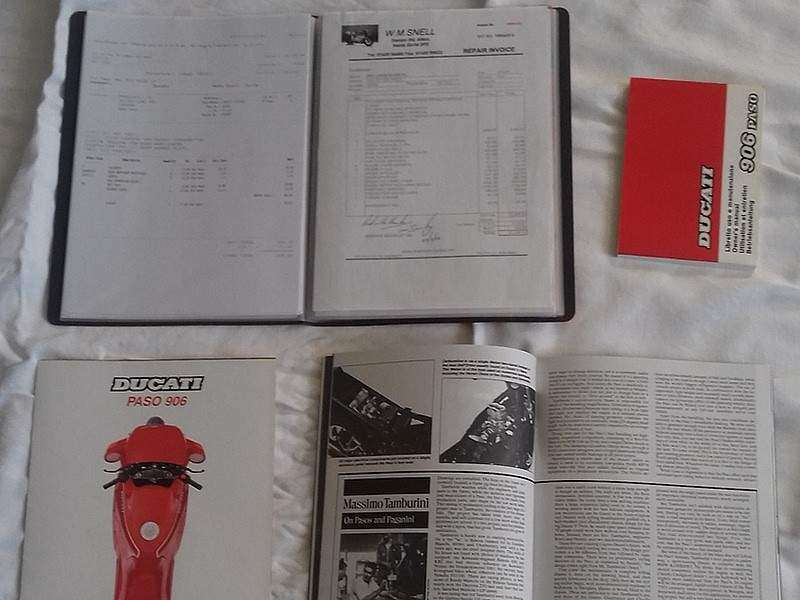 Documentación Ducati Nigel Mansell