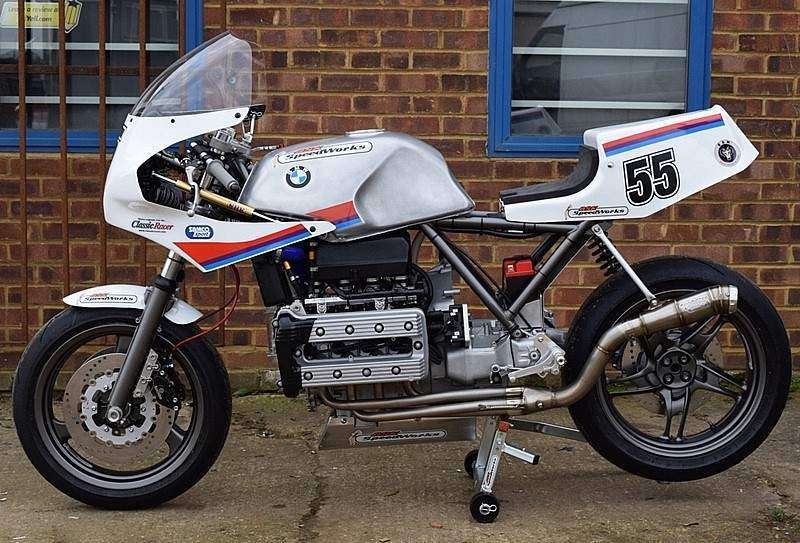 BMW K100 Endurance Racer - lateral