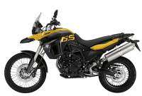 BMW F 800 GS amarillo y negro