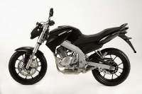 MH-7 Naked Air Cooled color negro