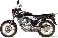 Sumco ST125 Streeter color negro