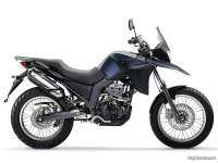 Derbi Terra 125 - vista derecha, escape