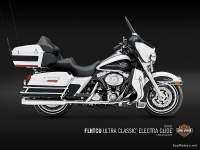 Harley Davidson Ultra Classic® Electra Glide® - White Gold Pearl y Black Pearl
