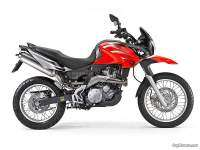 Aprilia Pegaso 650 Trail - color rojo