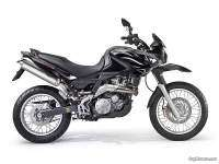 Aprilia Pegaso 650 Trail - color negro