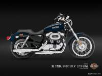 Harley Davidson 1200 Low - XL 1200L - Dark Blue Pearl