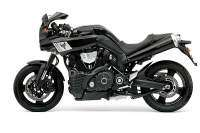 Yamaha MT-01 con kit carenado MT-0S - vista izquierda