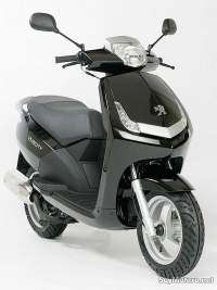 Peugeot New Vivacity - color negro