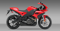 Buell 1125R 2010 - Racing Red + Phantom Metallic Frame