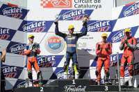 CEV Circuito de Cataluña. Podio Supersport