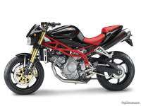 Moto Morini Corsaro Avio - Black with red frame