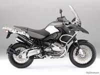 BMW R 1200 GS Adventure 2010 - negro,blanco, gris