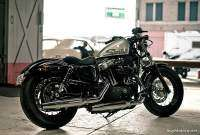 Harley Davidson Forty-Eight color gris
