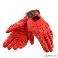 Guante Dainese Svelte D-Dry Lady - Negro y blanco