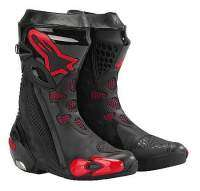Alpinestar Supertech R - Color negro y rojo