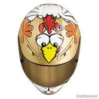 AGV GP-Tech The Chicken - el casco de la gallina de Rossi