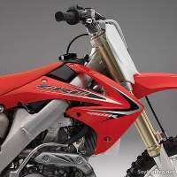 Honda CRF450R 2011 - decoración plásticos, careta