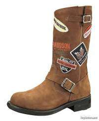 botas mujer Harley-Davidson Brooklyn Patch