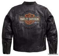 cazadora Harley-Davidson Roadway Leather Jacket - bordado espalda